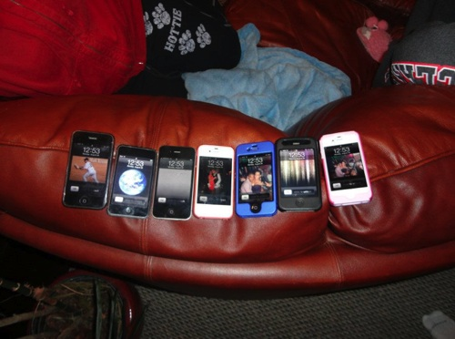 Iphones are just one example of Apple's widespread reinvention of the way people use media. PHOTO/Sarah Bloom
