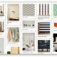 The layout of a typical Pinterest page.